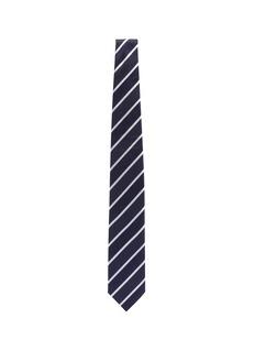 stefanobigi milano 'Taro' stripe mix textured silk tie