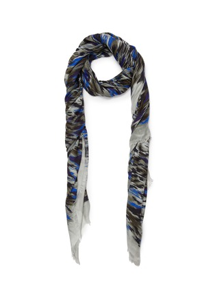 Main View - Click To Enlarge - Franco Ferrari - Leopard print scarf