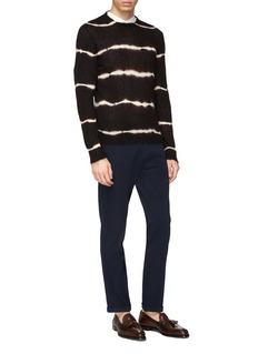 EIDOS Abstract tiger print sweater