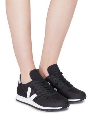 Figure View - Click To Enlarge - Veja - 'SDU' patchwork sneakers