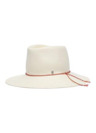 388baa3c123dc Maison Michel  Charles  packable straw fedora hat