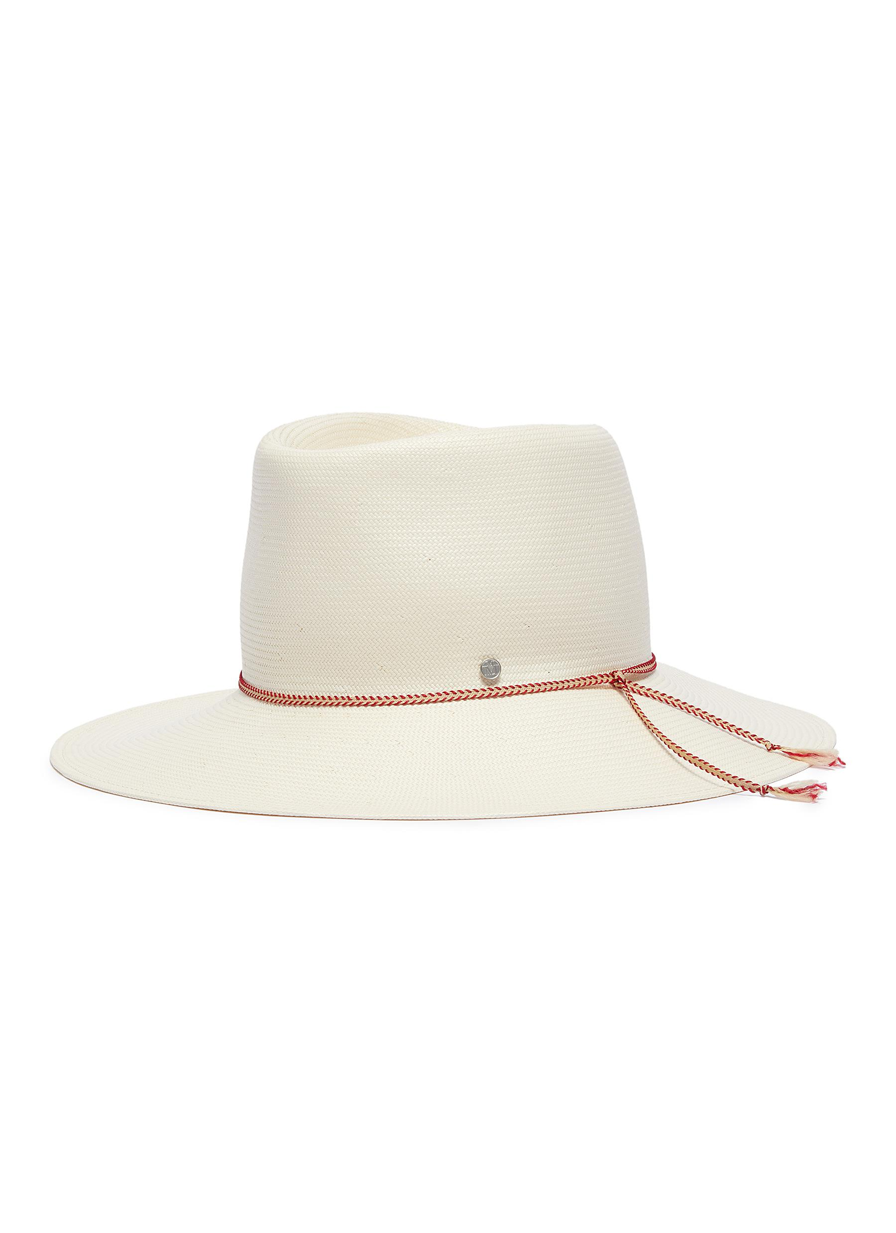 Maison Michel.  Charles  packable straw fedora hat 3bbb847448d