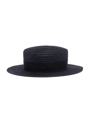 Main View - Click To Enlarge - Maison Michel - 'Kiki' straw canotier hat