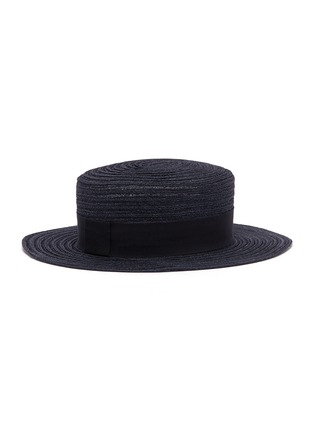 Figure View - Click To Enlarge - Maison Michel - 'Kiki' straw canotier hat