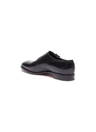 - JOHN LOBB - 'Sennen' double monk strap leather loafers