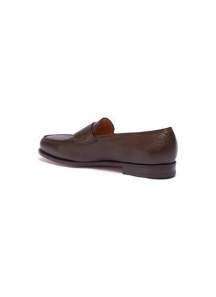 - JOHN LOBB - 'Lopez' grainy leather penny loafers