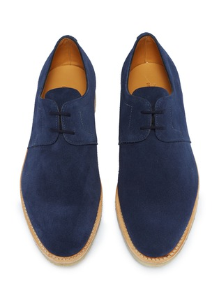 Detail View - Click To Enlarge - JOHN LOBB - 'Drift' suede Derbies