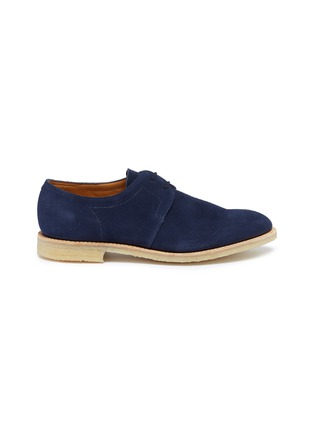 Main View - Click To Enlarge - JOHN LOBB - 'Drift' suede Derbies