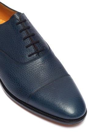 Detail View - Click To Enlarge - JOHN LOBB - 'City II' grainy leather Oxfords
