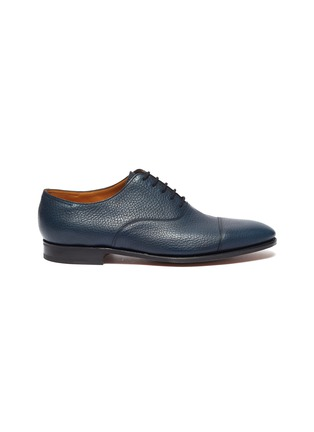 Main View - Click To Enlarge - JOHN LOBB - 'City II' grainy leather Oxfords