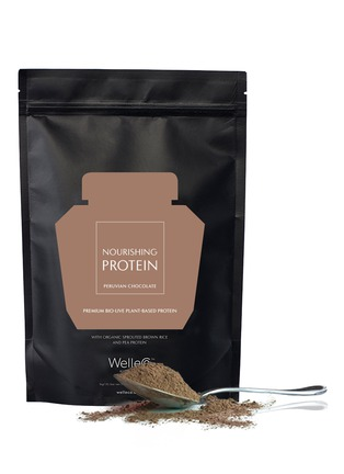 Main View - Click To Enlarge - WelleCo - Nourishing Plant Protein Peruvian Chocolate 1kg – Refill