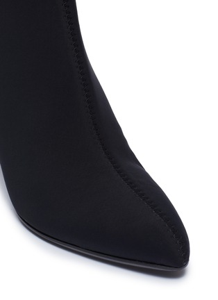 Detail View - Click To Enlarge - Alchimia di Ballin - Slanted heel neoprene ankle boots