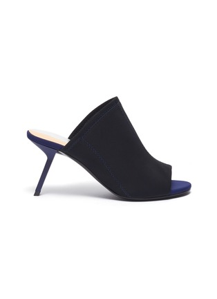 Main View - Click To Enlarge - Alchimia di Ballin - Slanted heel neoprene sandals