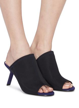 Figure View - Click To Enlarge - Alchimia di Ballin - Slanted heel neoprene sandals