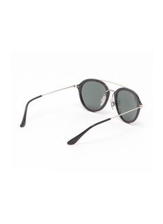 Ray-Ban 'RJ9065S' acetate rim metal round junior sunglasses