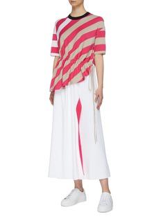 MRZ Colourblock panel skirt