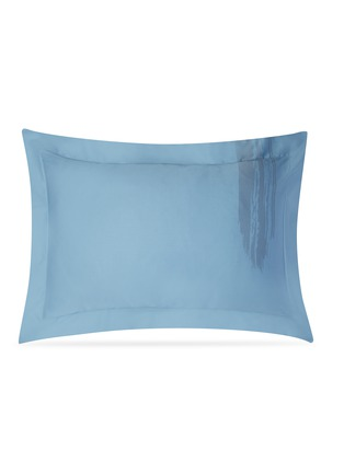 Main View - Click To Enlarge - ANDRÉ FU LIVING - Artisan pillowcase set – Blue on Blue