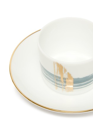 Detail View - Click To Enlarge - ANDRÉ FU LIVING - Brush tea cup and saucer set