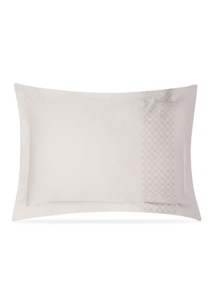 Main View - Click To Enlarge - ANDRÉ FU LIVING - Vintage Modern pillowcase set –Grey on Beige