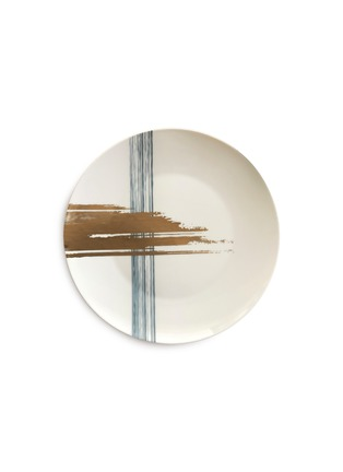 Main View - Click To Enlarge - ANDRÉ FU LIVING - Brush large round serving plate