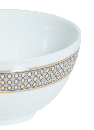 Detail View - Click To Enlarge - ANDRÉ FU LIVING - Vintage Modern Chinese soup bowl –Beige/Gold