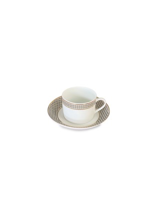 Main View - Click To Enlarge - ANDRÉ FU LIVING - Vintage Modern tea cup and saucer set