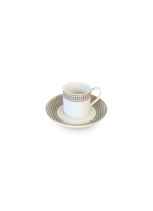 Main View - Click To Enlarge - ANDRÉ FU LIVING - Vintage Modern coffee cup and saucer set