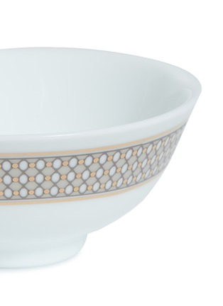 Detail View - Click To Enlarge - ANDRÉ FU LIVING - Vintage Modern Chinese rice bowl –Beige/Gold