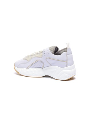 - ACNE STUDIOS - Chunky outsole patchwork leather sneakers