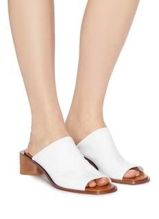 Acne Studios 'Bernelle' triangular heel leather sandals