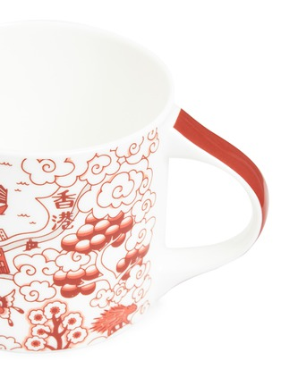 Detail View - Click To Enlarge - FAUX - Willow mug – Red