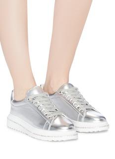 Pedder Red 'Link' strass platform sneakers