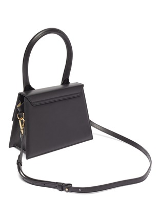 Detail View - Click To Enlarge - JACQUEMUS - 'Le grand Chiquito' leather top handle bag
