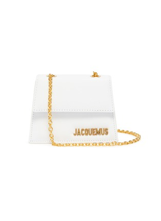 Main View - Click To Enlarge - JACQUEMUS - 'Le Piccolo' leather crossbody micro bag