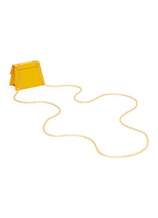 Detail View - Click To Enlarge - JACQUEMUS - 'Le Piccolo' leather crossbody micro bag