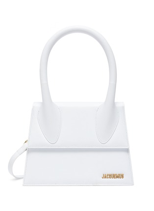 Main View - Click To Enlarge - JACQUEMUS - 'Le grand Chiquito' leather top handle bag