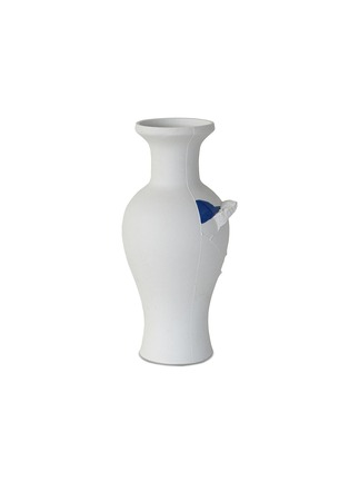 Main View - Click To Enlarge - WRIGHT & SMITH - FRAGMENT(S) medium vase – Cobalt Blue