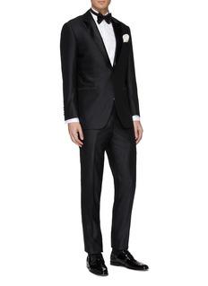 Tomorrowland Wool tuxedo pants
