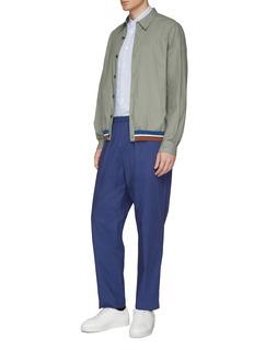 Tomorrowland Stripe hem coach jacket