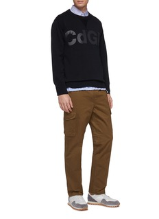 COMME des GARÇONS Homme Tapered twill cargo pants