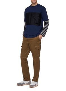 COMME des GARÇONS Homme Contrast chest pocket panel T-shirt