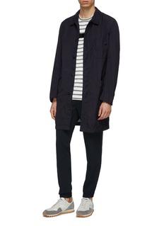 COMME des GARÇONS Homme Garment dyed twill coat