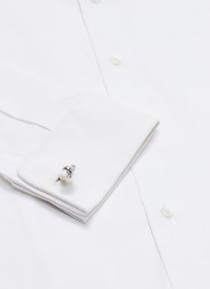 Babette Wasserman Sleek bullet cufflinks