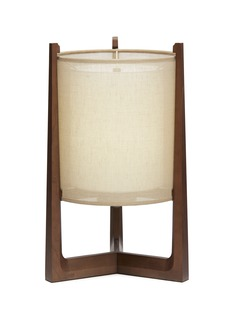 André Fu Living Lantern round table lamp – Dark Brown