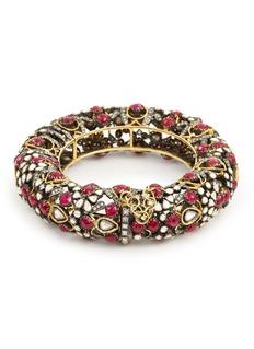 Aishwarya Diamond ruby gold alloy bangle