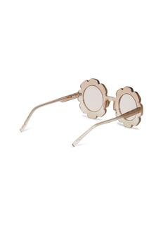 Sons+Daughters Eyewear 'Pixie' glitter acetate flower frame kids sunglasses