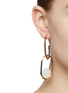 Rosantica 'Scoperta' stone link drop earrings