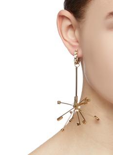 Rosantica 'Deejay' detachable starburst drop earrings