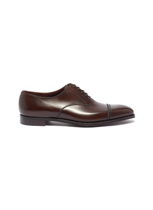 Main View - Click To Enlarge - GEORGE CLEVERLEY - 'Charles' leather Oxfords