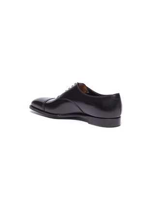 - GEORGE CLEVERLEY - 'Charles' leather Oxfords
